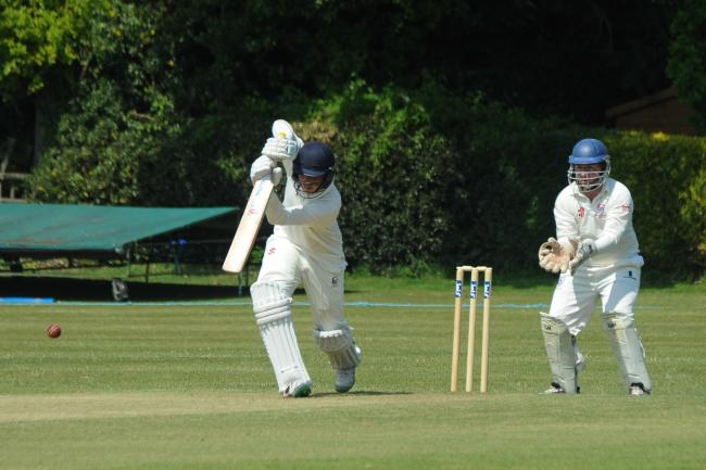 Ben Febery batting for Colwall