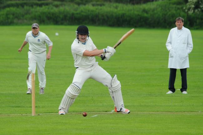 Matt Bengry hit an unbeaten century for Luctonians to keep them in the title race