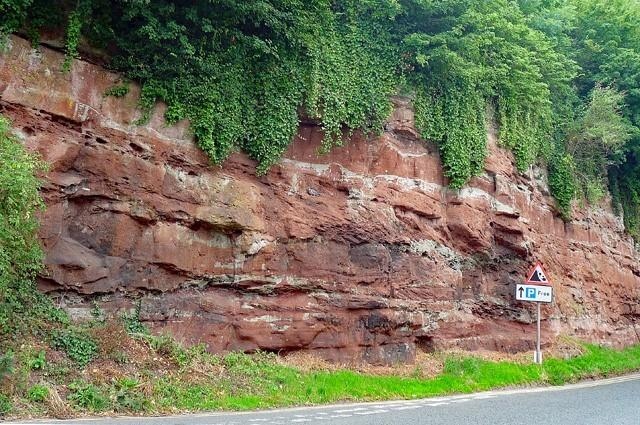 The Wilton Road cliff