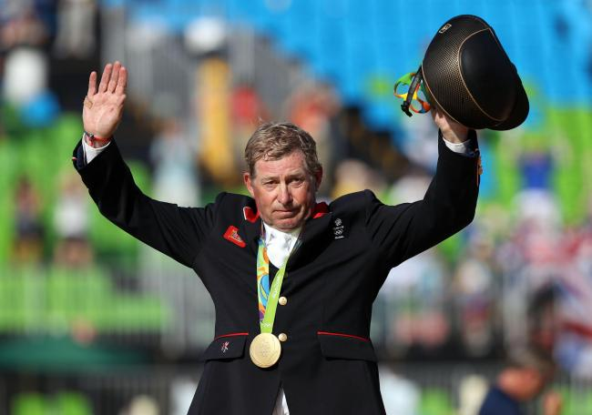 Nick Skelton. Picture: PA