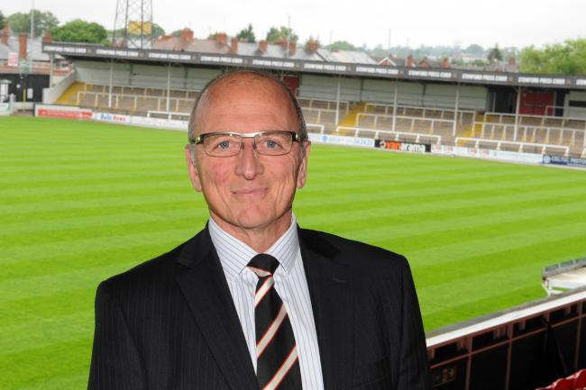 Hereford chairman Andrew Graham is currently in self-isolation