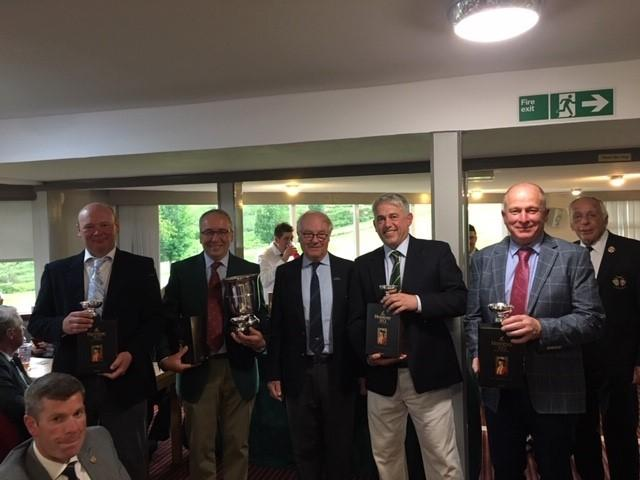 The Kington Golfers who clinched The Cognac Cup