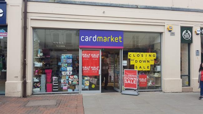 Cardmarket on Commercial Street, Hereford, will close its doors later this year.