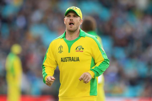 Australia's captain Aaron Finch is all smiles ahead of the Cricket World Cup semi-final with England in Birmingham