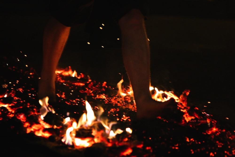 Fire Walk for Parkinson's UK