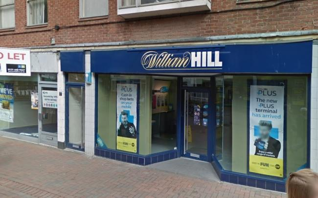 700 William Hill shops are set to close. Photo: Google