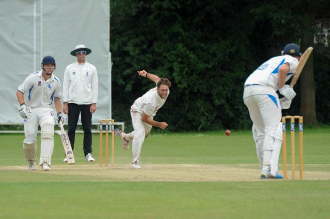 Dan Conway took his 100th championship wicket for Herefordshire