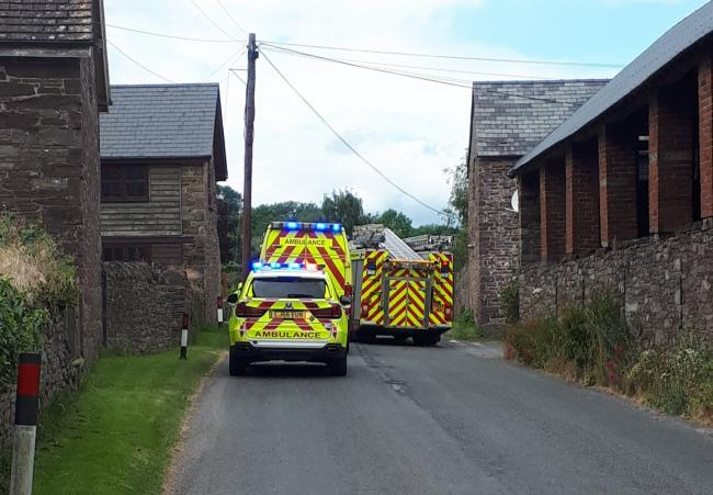 Emergency services were called to the scene. Photo: Golden Valley SNT