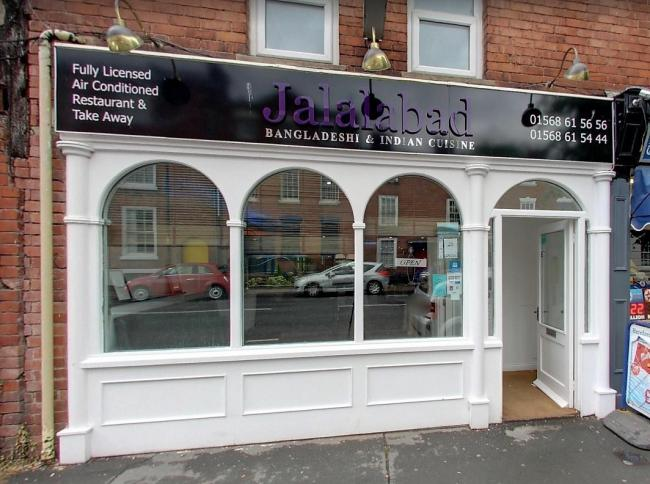 Staff were abused in the Jalalabad restaurant in Leominster. Picture: Google