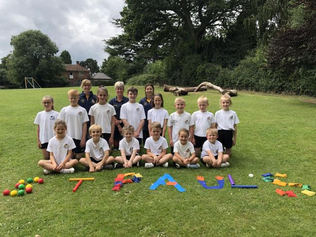 St Paul's C of E Primary School as been praised for encouraging sport.