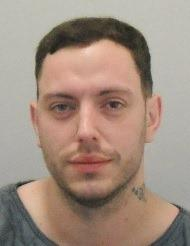 Dominic Farrow is wanted in connection with an assault in Hereford. Picture: West Mercia Police