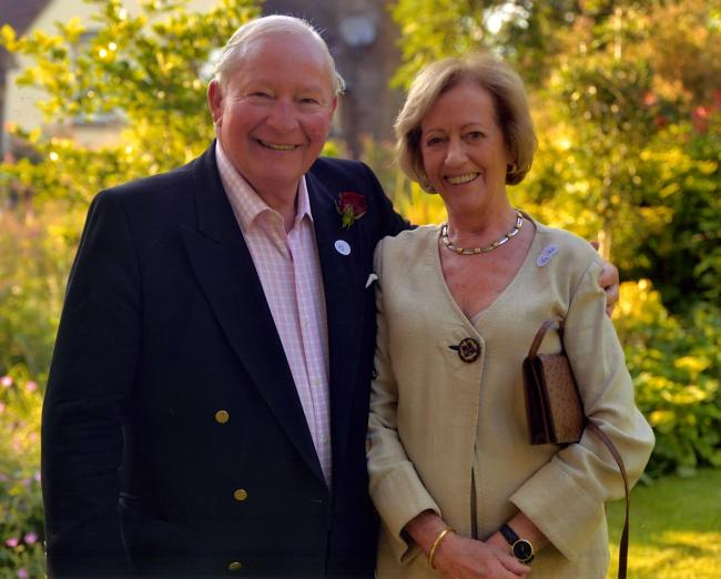 Clive and Sylvia Richards have given £150,000 to the new venture.