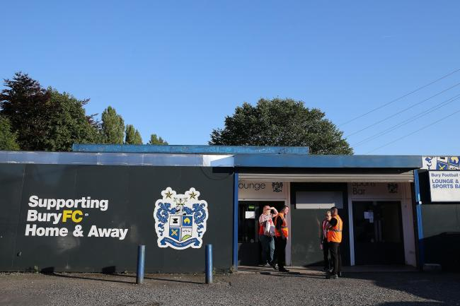 Bury chairman Steve Dale has revealed the club is safe