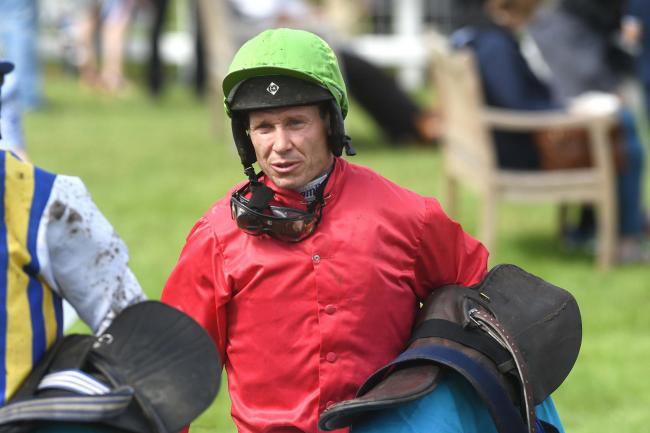 Richard Johnson rode to victory on Big Shark