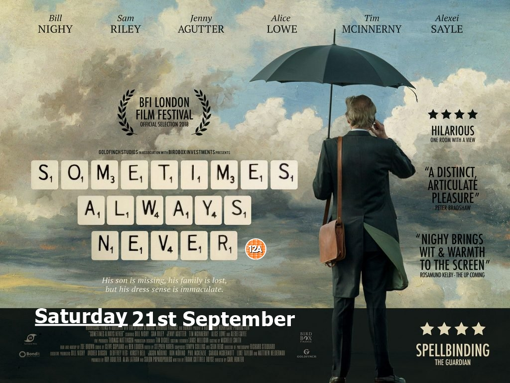 Film: Sometimes Always Never