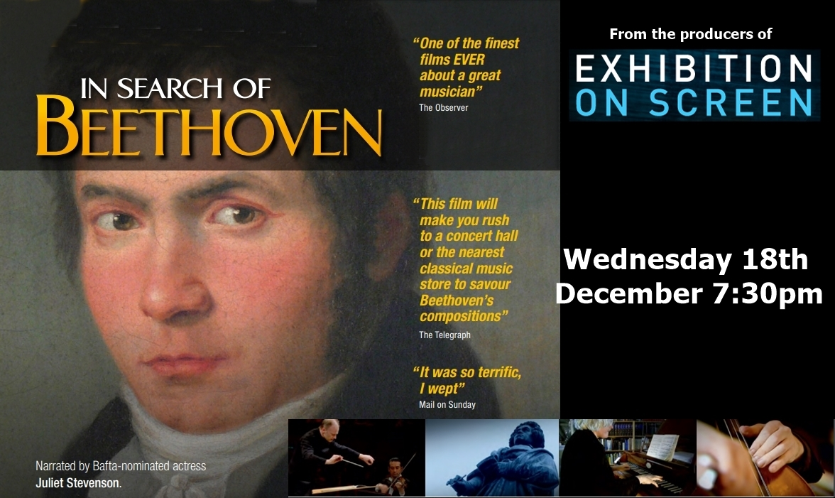 From Exhibition on Screen: In Search of Beethoven