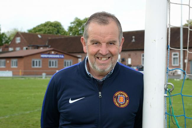 Simon Panes is stepping down from his role as chief executive at the Herefordshire FA. Picture: James Maggs