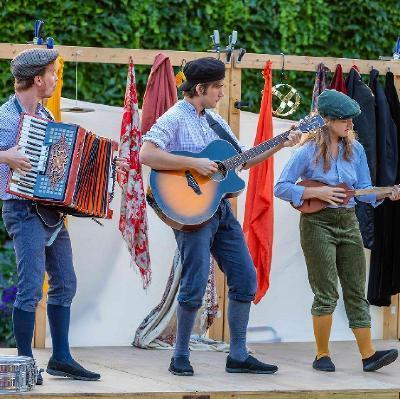 The Three Inch Fools present Much Ado About Nothing at Butford Organics in Bodenham