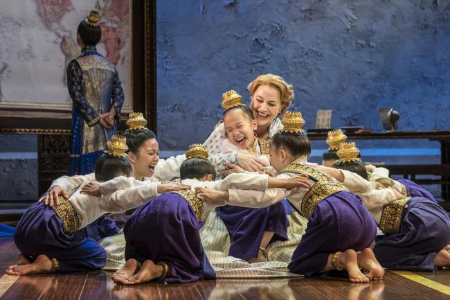 STUNNING: A scene from The King and I.