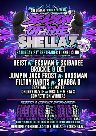 DNB Shellaz Presents The Season of The Shellaz 2.0