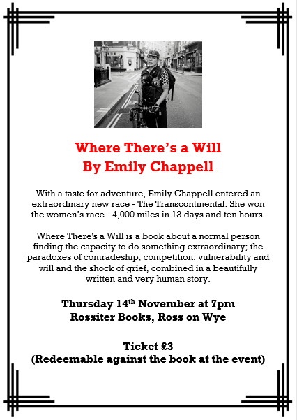 Emily Chappell Book Talk on Where There's a Will