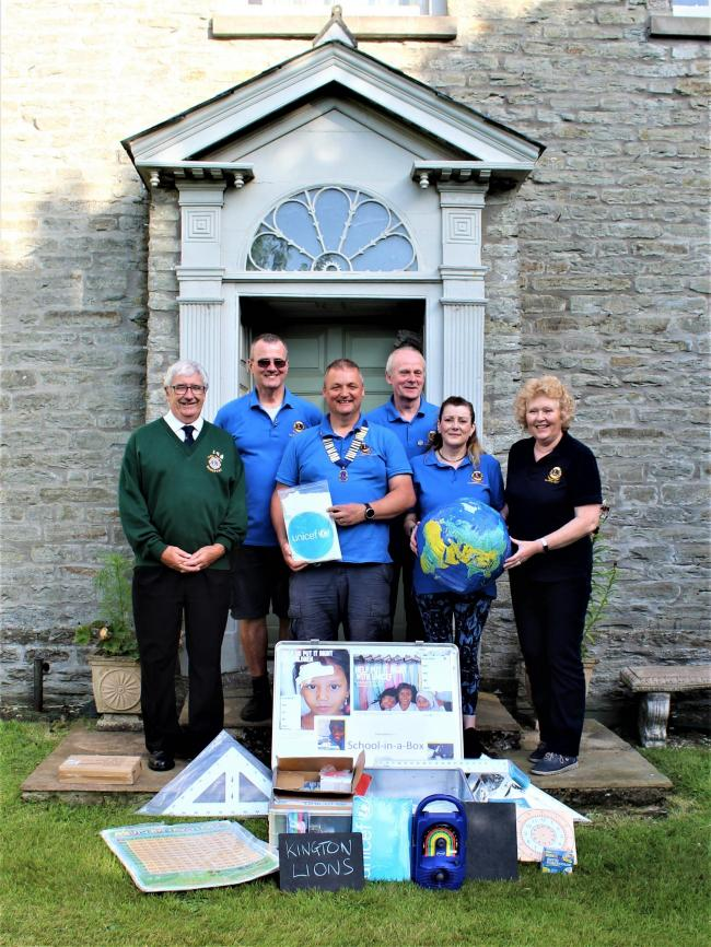 Kington Lions have been overwhelmed by the generosity of the community. Photo: Kington Lions