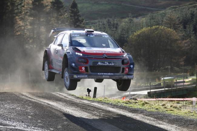 Craig Breen who will be in action at the Wales Rally GB. Picture: Paul Willetts