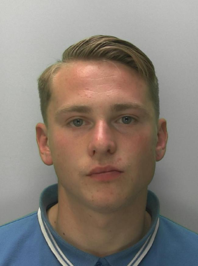 CAUGHT: Zach Peach was caught with more than £2,000 in cash and drug. Picture:  Gloucestershire Constabulary