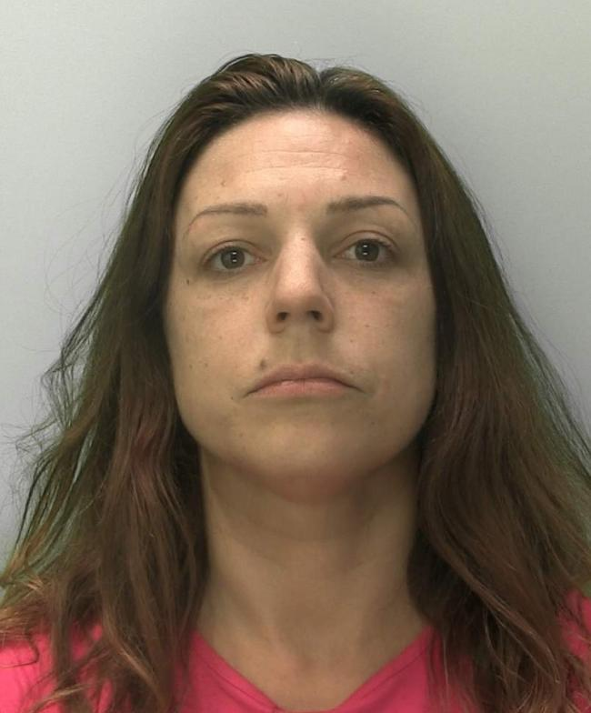 SMASHED CARS: Jade Kelly. Picture: Gloucestershire Constabulary