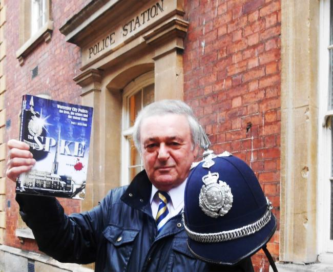 Journalist turned best selling writer Bob Blandford with his book The Spike