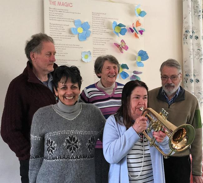 Leominster Meeting Centre members Blowin' their own Trumpet