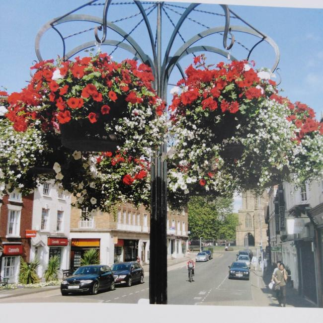 Hereford in Bloom by George Thomas