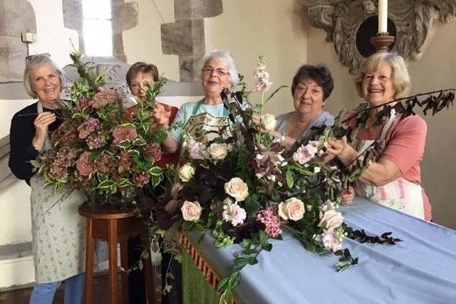 WELLINGTON ladies and a gentleman are preparing for a grand flower festival called Poetic Licence!