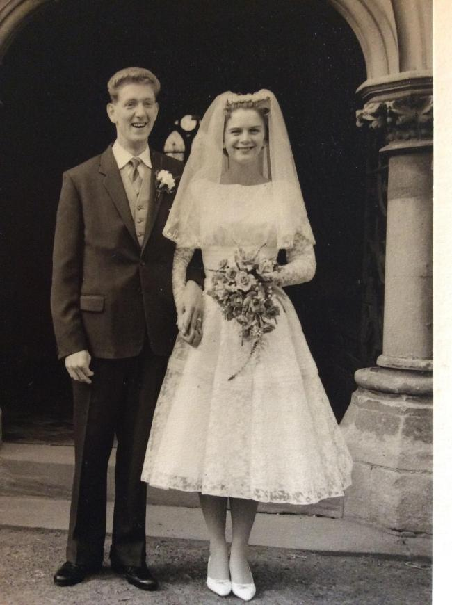Hereford couple Bob and Gill Doody celebrated their 60th wedding anniversary last week.