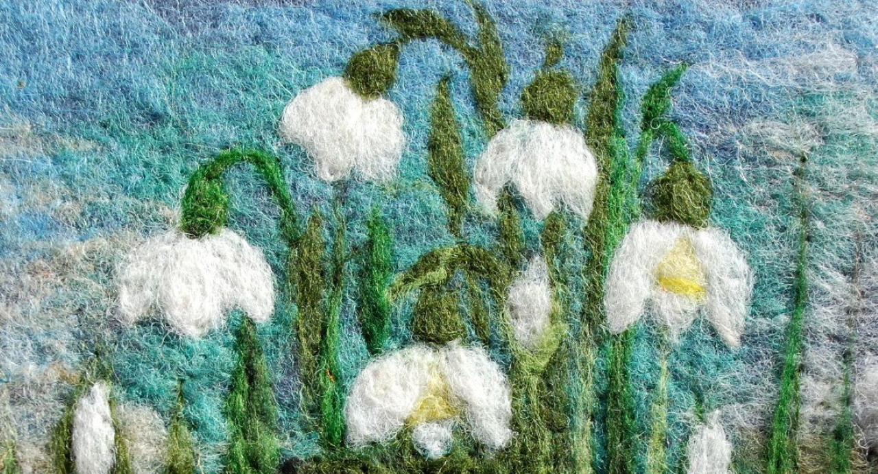 Picture Needle Felting Workshop