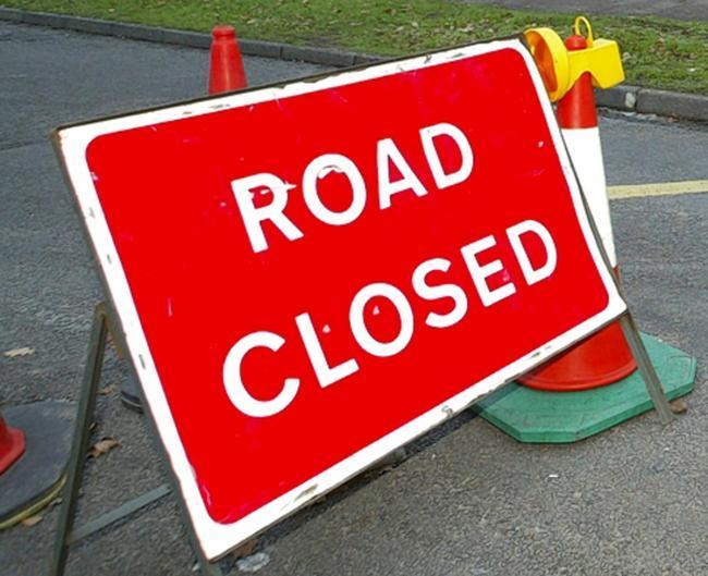 Sections of the A4103 between Hereford and Worcester will be closed next week.