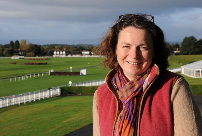 Hereford Racecourse Chief Executive Rebecca Davies