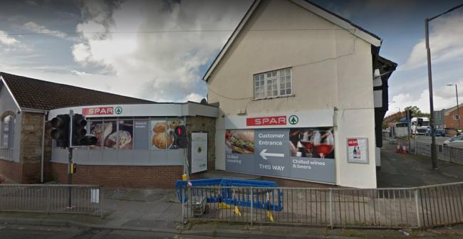 A thief stole items from a Spar store in Leominster. Photo: Google