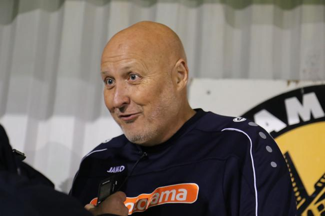 Hereford manager Russell Slade. Picture: Steve Niblett