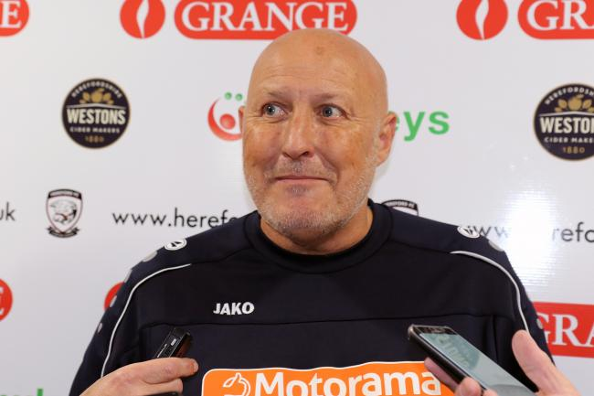 Hereford manager Russell Slade