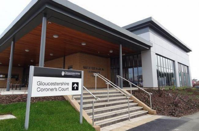 INQUEST: The inquest is being held at Gloucestershire Coroner's Court