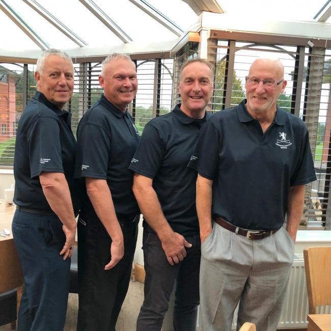 The Leominster team (l-r) Mike Privett, Tony Green, Iain Ashcroft and Jim Shaddick.