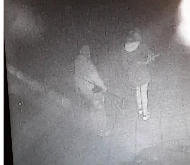 Illegal metal detectors caught on camera. Photo: West Mercia Police
