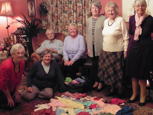 Inner Wheel Club members are proud to have been able to lend their support to young mums in South Africa
