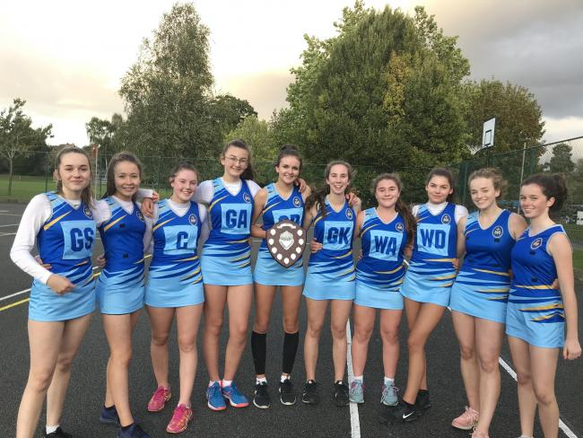 St Mary's RC High School were crowned under-16 champions