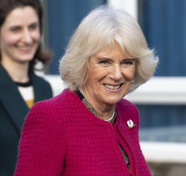 The Duchess of Cornwall. Photo: Matthew Horwood/PA Wire.