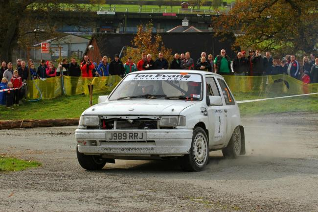 Herefordshire Motor Club are holding their Torques Builth Showground Rally this Saturday. Photo: Ralliphotowales.