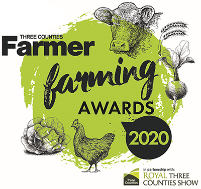 Hereford Times: Three Counties Farmer Farming Awards 2020 Logo