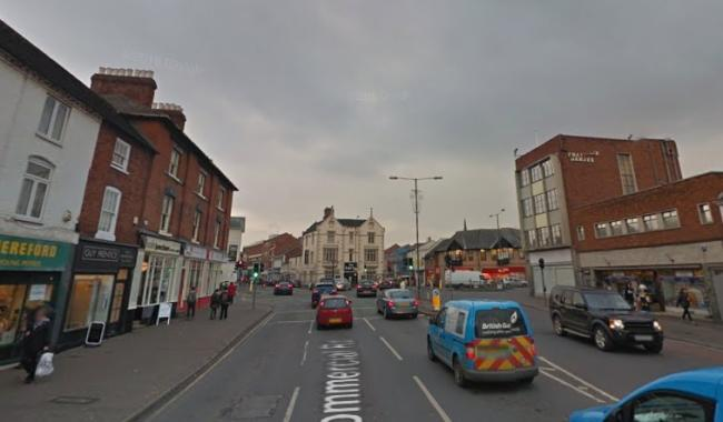 Commercial Road, Hereford. Photo: Google Maps