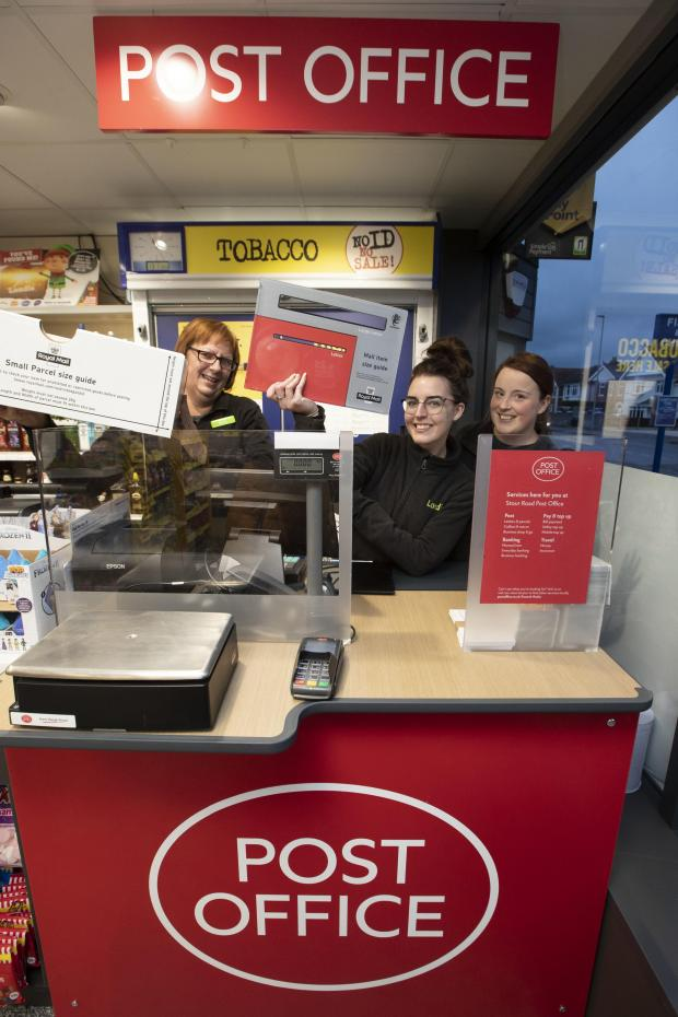 Hereford Times: A counter similar to the post office in a box idea mooted for Hay-on-Wye